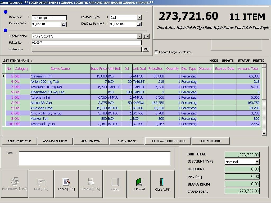 jual software rumah sakit
